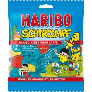 Haribo Schtroumpfs 300g
