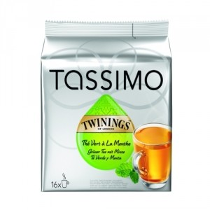 Tassimo Twinnings Mint Green Tea
