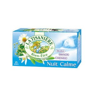 La Tisaniere Nuit Calme 25 Bags