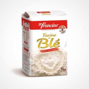 Francine Farine de Blé tous usages 1kg