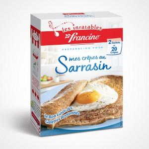 Francine Preparation Pour Crêpes Sarrasin