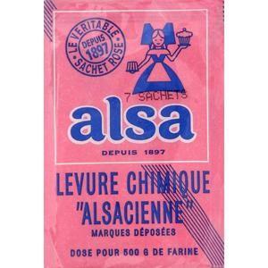 Alsa Levure Chimique Alsacienne x7