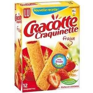 LU Craquinette Fraise 200g