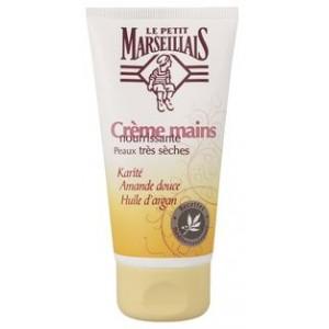 Crème Mains Karité, Amande Douce, Huile d'Argan