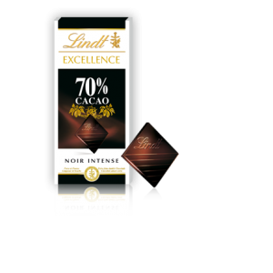 Lindt 70% Cacao Noir Intense Chocolate Bar