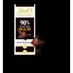 Lindt 90% Cacao Noir Prodigieux Chocolate Bar