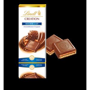 Lindt Praline Rocher Milk Chocolate Bar