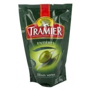 Tramier - Whole Green Olives 125g