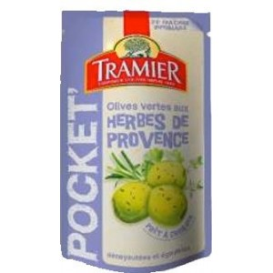 Tramier - Olives with Herbs de Provence 70g