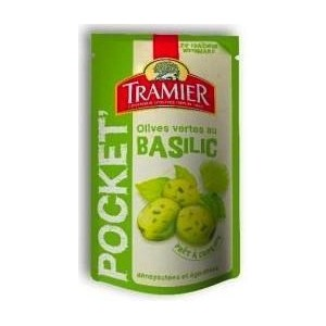 Tramier - Olives with Basil 70g