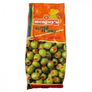 Menguys - Red Pepper Stuffed Olives 150g