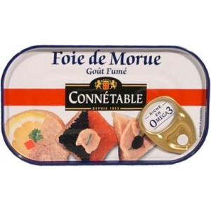 Connetable - Cod Liver 120g