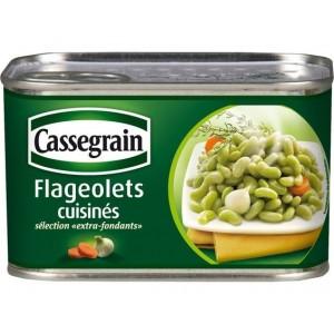 Cassegrain Flageolets cuisinés (cooked bean) 265g