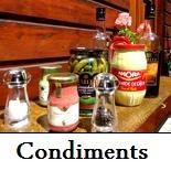 Condiments/Confitures